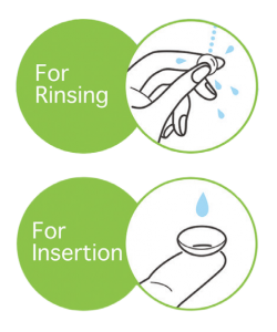 For Rinsing For Insertion